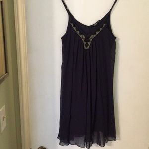 Flowy Navy Blue Express Dress